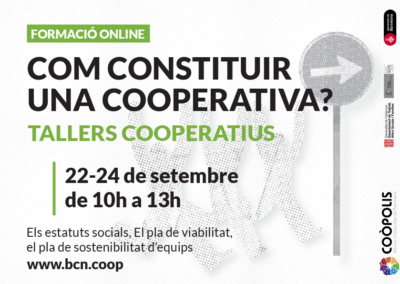 Tallers Cooperatius Setembre