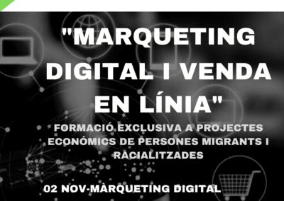 Marqueting digital i venda online per a projectes migrants