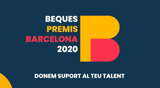 Beques premis Ciutat de Barcelona 2020