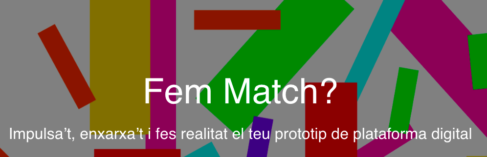 En marxa MatchImpulsa: el programa transversalment feminista per la plataformització digital de l'Economia Social i Solidària i col·laborativa de Barcelona
